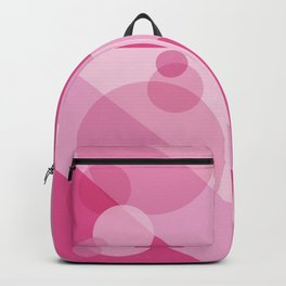 Pink Spheres Abstract Backpack
