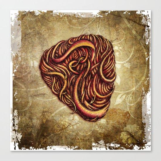 HAIR PICK Canvas Print