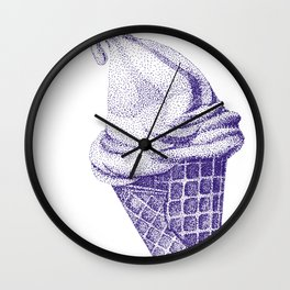I C E - C R E A M  Wall Clock