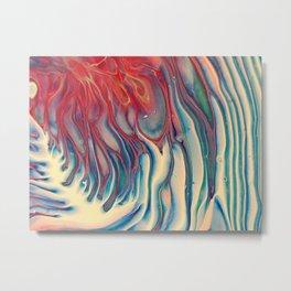 Fire Wisteria Metal Print
