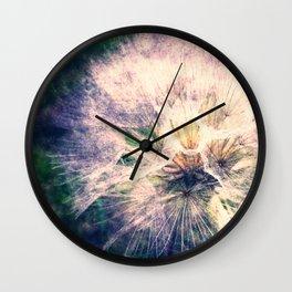 Tragopogon Wall Clock