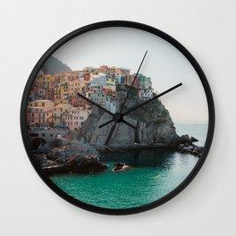 Riomaggiore, Italy Wall Clock