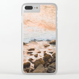 Pacific Coast Sunset Clear iPhone Case