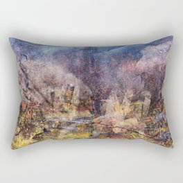 FROM THE RUBBLE Rectangular Pillow