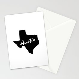 Austin, TX Stationery Cards