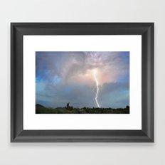 Arizona Monsoon 2015_1 Framed Art Print