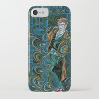 dr who iPhone & iPod Cases featuring Dr. Who by Alex Bayliss