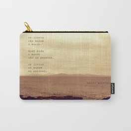 Os Livros Carry-All Pouch
