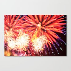 Fireworks - Philippines 14 Canvas Print