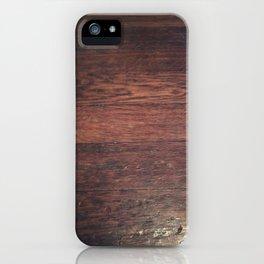 Against the Grain iPhone Case