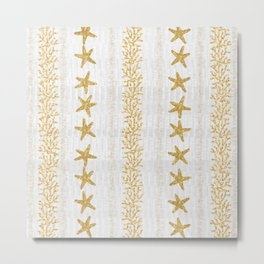 Sea Stars and Corals  Metal Print