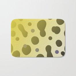 Wild design dots b-white Bath Mat