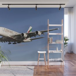Airbus A380 Emirates Wall Mural