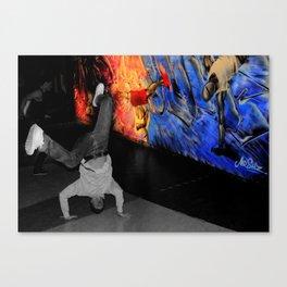 Breakdance Uk  Canvas Print