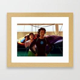 Not Jarvis Framed Art Print