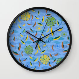 Ocean Currents Wall Clock