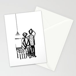 My friends artists Stationery Cards