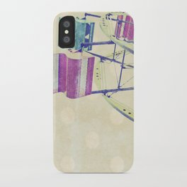 Nice Day for a Ferris Wheel Ride ... iPhone Case