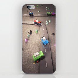 Mini Cars iPhone Skin