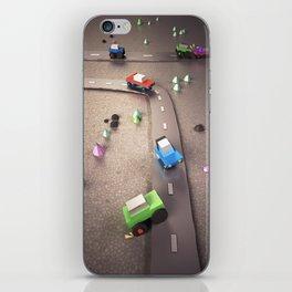 Mini Cars iPhone Skin