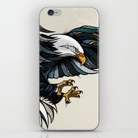 eagle iPhone & iPod Skins featuring Eagle by Andreas Preis
