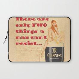 Guinness - Vintage Beer Laptop Sleeve
