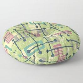 Mid Century Modern Abstract Pattern 832 Floor Pillow