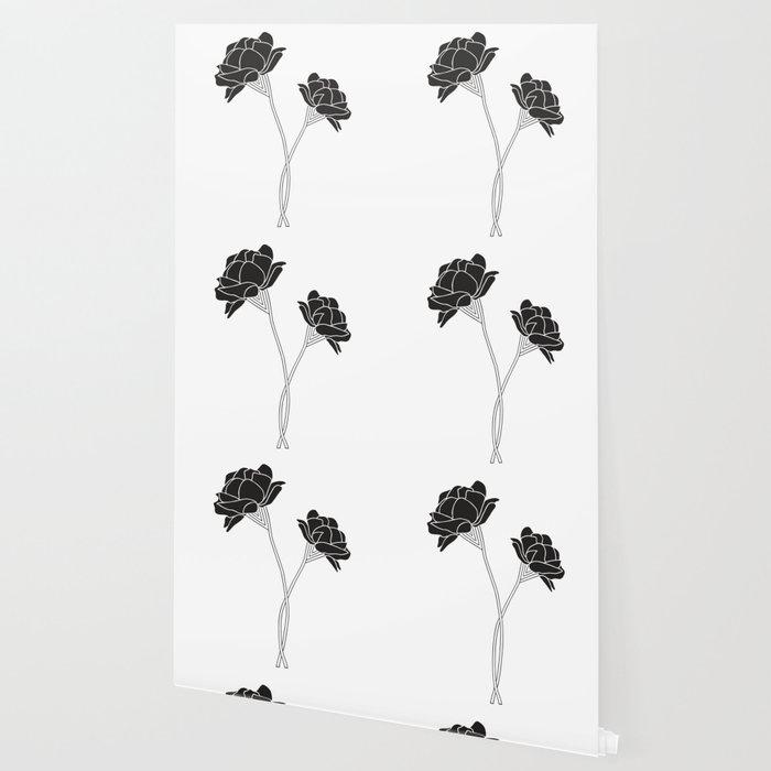 Flower Stems Wallpaper