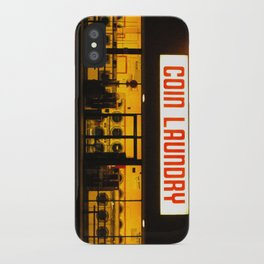 Coin Laundry iPhone Case