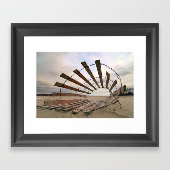 Roll Play Framed Art Print