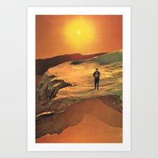 The Singer (ty) Art Print