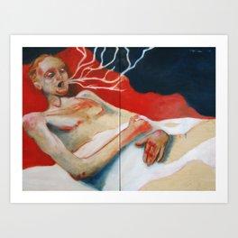 Cordyceps 2 Art Print