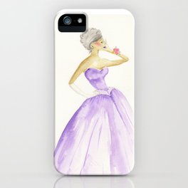 You Cannot Ignore the Color Purple iPhone Case