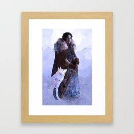It's Winter Time Framed Art Print