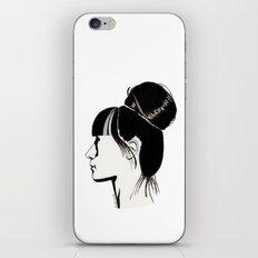 Françoise iPhone & iPod Skin