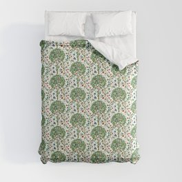William Morris Tree of Life Pattern, Green & Multi Comforters