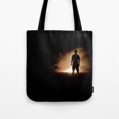 Fire Starter Tote Bag