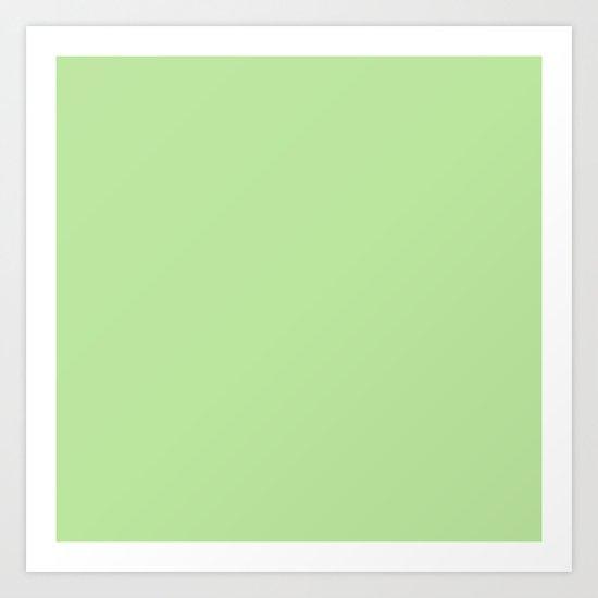 Happy Green Art Print