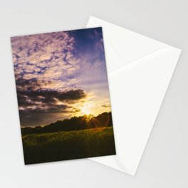 Underneath the Oklahoma Sky Stationery Cards