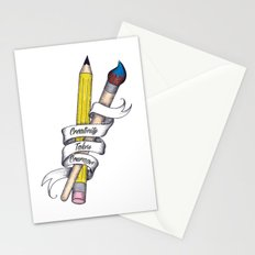 Creativity Takes Courage Stationery Cards