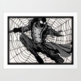 Superhero Print Art Print