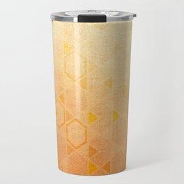Rose Gold Abstract Travel Mug