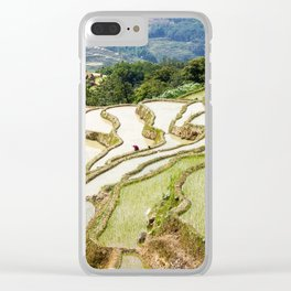 Yuanyang Rice Terraces - China Clear iPhone Case