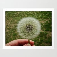 Art Print featuring Make a Wish! by Jesika Anne