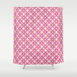 Happy Days in Pink-P356 Shower Curtain
