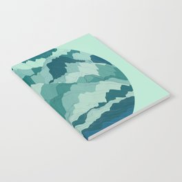 TOPOGRAPHY 006 Notebook