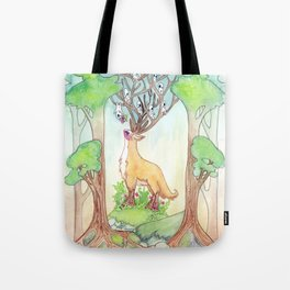 A Flower for Life and Death Tote Bag