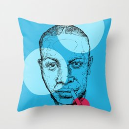 Robert Johnson Throw Pillow