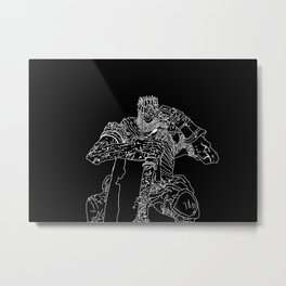 Yorm the reclusive Giant lord Metal Print