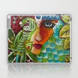 The Girl and The Bird 2 Laptop & iPad Skin